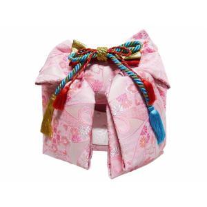 七五三 七歳用 結び帯 大寸 単品 新品 DA-171 帯飾り付き|koyuki