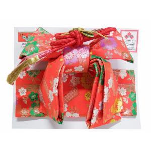 七五三 三歳用 結び帯 小寸 単品 新品 SY-168 帯飾り付き|koyuki