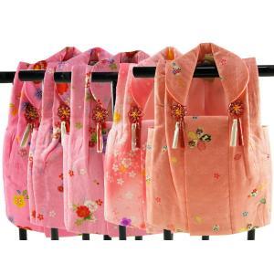 三歳用 正絹 被布コート 赤系 hn-70 全5柄|koyuki