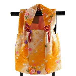 三歳用 正絹 被布コート イエロー系 hn-74|koyuki
