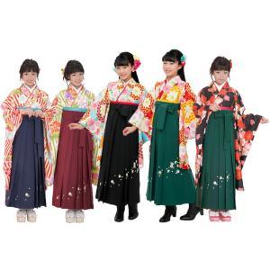 小町 kids ジュニア着物 袴 長襦袢 3点セット 全5柄 jk-30|koyuki
