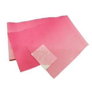 ボカシ 浴衣帯 半幅帯 ピンク 無地 bo-138|koyuki