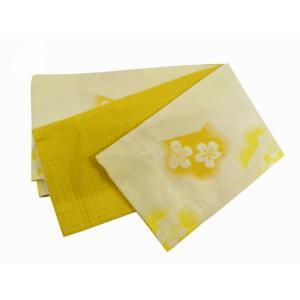 四季 細帯 半幅帯 リバーシブル 小袋帯 日本製 bo-176-c|koyuki