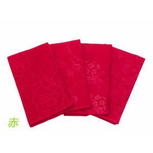 訳あり 織柄入り 浴衣帯 半幅帯 全4柄 赤色 bo-210|koyuki