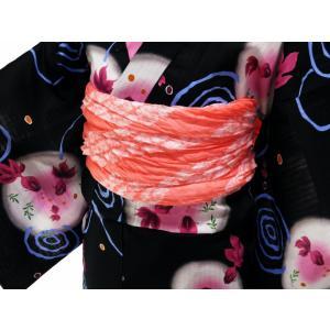 浴衣用 タズナ 絞り 兵児帯 へこおび ピンク系 he-142|koyuki|02