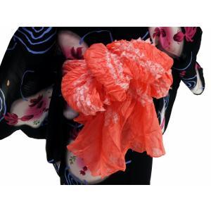浴衣用 タズナ 絞り 兵児帯 へこおび ピンク系 he-142|koyuki|03