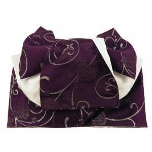 マジックテープタイプ 浴衣用 変わり織 作り帯 結び帯 箱入り her-151-H|koyuki