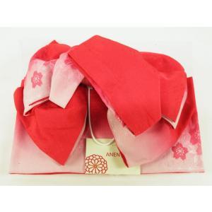 浴衣用 変わり織 作り帯 結び帯 箱入り her-152|koyuki