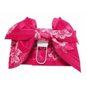 浴衣帯 作り帯 いろいろ ローズ her-220 結び帯|koyuki