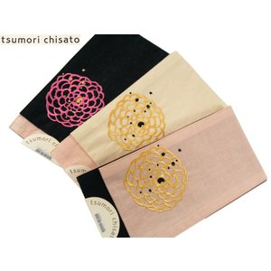 本麻 tsumori chisato ツモリチサト 浴衣帯 半幅帯 小袋帯 刺繍入り 全3タイプ tsu4 花|koyuki