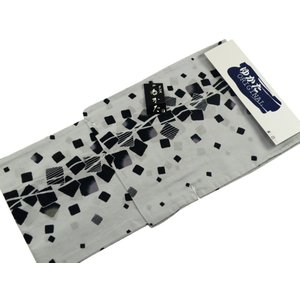 浴衣 紳士用 お仕立て上がり浴衣 単品 mp-19 ブルーグレー系 LLサイズ|koyuki