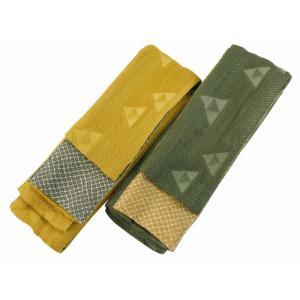 桐生織物謹製 男帯 浴衣帯 角帯 日本製 リバーシブル 全2色 mk-133|koyuki