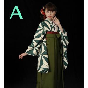 二尺袖 着物 袴 セット 加藤ナナ 着用 全2タイプ|koyuki|03