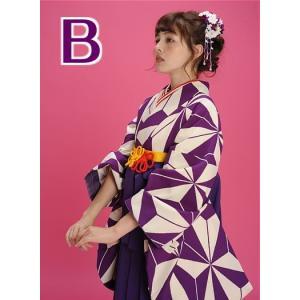 二尺袖 着物 袴 セット 加藤ナナ 着用 全2タイプ|koyuki|04