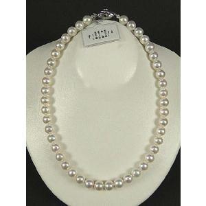 最高品質 花珠 和珠 パールネックレス 9.0〜9.5mm ホワイト|koyuki