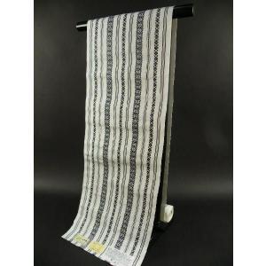 本場博多帯 正絹 献上柄 八寸名古屋帯 博多証紙付|koyuki