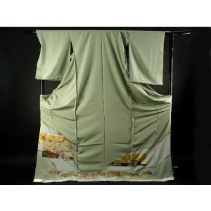 色留袖 お仕立て・付属品一式込み 純金箔使用 豪華 正絹 色留袖  13|koyuki