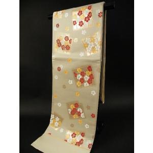 京都西陣 お洒落 訪問着・振袖用 袋帯 六通柄  74 koyuki