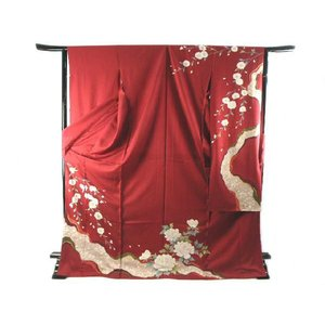 振袖 お仕立て・付属品一式込み 刺繍入り 豪華 正絹 振袖  22|koyuki