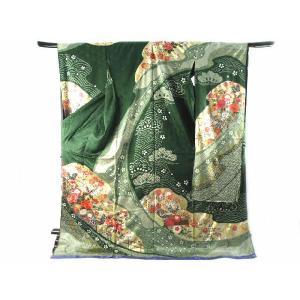 振袖 お仕立て・付属品一式込み 絞り金駒刺繍 金彩加工入り 豪華 正絹 振袖  29|koyuki