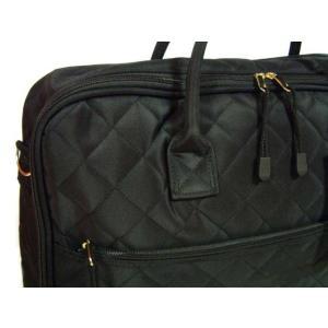 便利 着物バッグ 和洋兼用  キルティング スーツ・きもの収納ケース ブラック koyuki 02