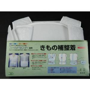 東レ独自のDP構造を持ったニット素材 フィールドセンサー使用  きもの補正着 日本製 デザインレース M・L|koyuki