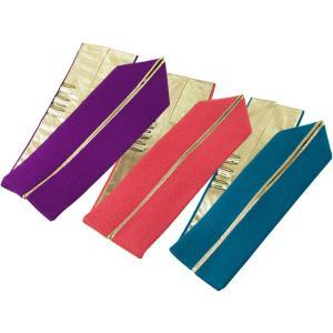 4通りに使える 振袖 重ね衿 重ね襟  伊達衿 ゴールド使用 リバーシブル 全3色 ks-38|koyuki