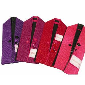 スワロフスキービーズ 正絹 重ね衿 重ね襟 伊達衿 日本製 全4色 ks-104 2点まで ゆうメール可|koyuki