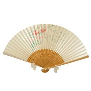 竹製 和紙 扇子 日本土産 sr-82 4点まで ゆうメール可|koyuki
