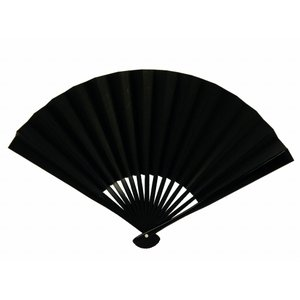 bai 喪服用 黒 扇子 末広 日本製 枠組みは竹製 4点まで ゆうメール可|koyuki