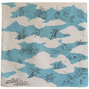 新品 日本製 鳥獣人物戯画は京都市右京区の高山寺に伝わる絵巻物です。 ※雲取りの表現にこだわっていま...