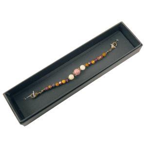 女性用 羽織紐 天然石 オリジナル 48-1 ロードナイト koyuki