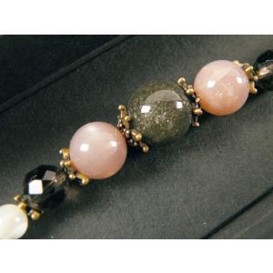 女性用 羽織紐 天然石 オリジナル 48-13 ガーデンクォーツ koyuki 02