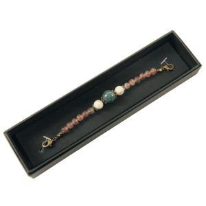 女性用 羽織紐 天然石 オリジナル 48-18 カイヤナイト|koyuki