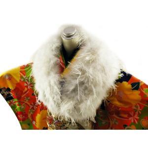 オーストリッチ フェザーストール 羽毛ショール ks-8|koyuki
