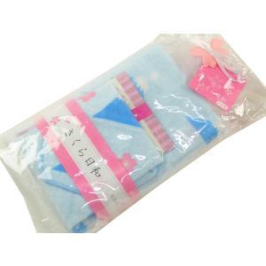 さくら日和 ガーゼタオル ガーゼハンカチ 入浴剤 セット  富士山 tk-29|koyuki