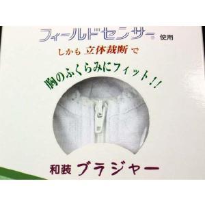 高級 和装ブラジャー 補整パット付き 東レ フィールドセンサー使用 M・L・LL|koyuki|03