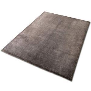 アイリスオーヤマ ラグ クッションラグ ブラウン 185×240cm 厚さ3cm もちもち はっ水加...