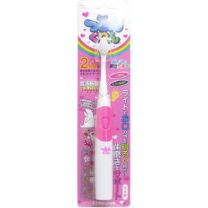 つるんくりん 音波振動歯ブラシ 子供用 ピンク JS002PK|kozukata-m
