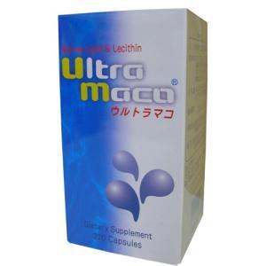 海洋性脂質(サメ由来)と卵黄レシチン(コリン)を配合 ウルトラマコ 270カプセル|kozukata-m