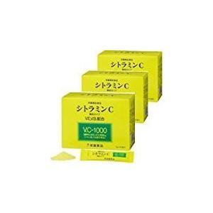 シトラミンC 60袋 3個セット 常盤薬品 ノエビアグループ 1袋中ビタミンC1000mg|kozukata-m