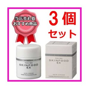 トキワ スキンフードエクセレント3個 常盤薬品 医薬部外品 肌あれ あれ性 ひび あかぎれ kozukata-m
