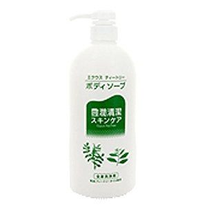 エクウス ティートリー ボディソープ550ml 3個セット 中央薬品 低刺激性スキンケア|kozukata-m