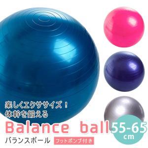 バランスボール 65cm ( ポンプ付 ) 送料無料! ダイ...