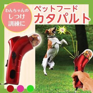 ペットフードカタパルト おもちゃ ペット玩具 トレーニング 給餌器 ペット あそび しつけ 訓練 おやつ 犬 猫 ペット用品 SALE 送料無料