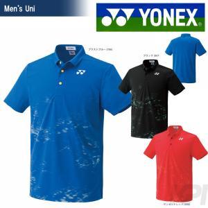 「均一セール」YONEX ヨネックス 「UNI ポロシャツ フィットスタイル  10182」ウェア「SS」『即日出荷』[ネコポス可]|kpi24