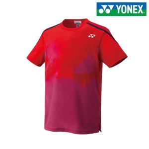 ヨネックス YONEX テニスウェア ユニセックス ユニゲームシャツ フィットスタイル  10266-496 2018SS|kpi24