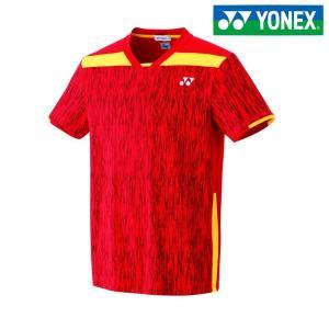 ヨネックス YONEX テニスウェア ユニセックス ユニゲームシャツ フィットスタイル  10267-496 2018SS|kpi24