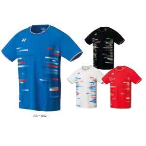 ヨネックス YONEX バドミントンウェア メンズ ゲームシャツ フィットスタイル  10286 2019SS|kpi24