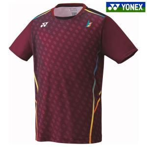 ヨネックス YONEX バドミントンウェア メンズ ゲームシャツ フィットスタイル  リン・ダン選手モデル 10296Y-021 2018FW「KPIバドミントンベストセレクション」|kpi24